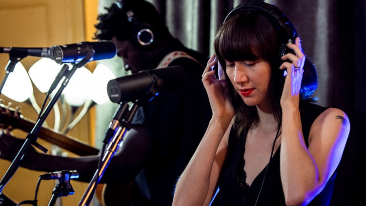 Indie rock legend, iconic fashion figure, tireless songwriter, and frontwoman for Yeah Yeah Yeahs Karen O just released her first official solo record. She brought two other station favorites—Moses Sumney and Holly Miranda—to round out her sound in a live performance from the Village Studios. Hear it on Morning Becomes Eclectic.