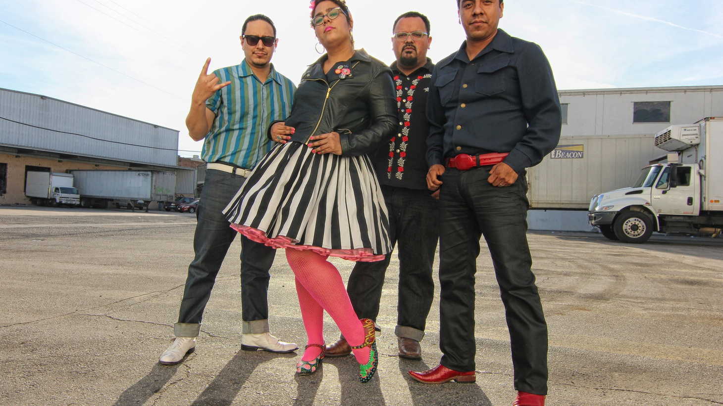Grammy Award- winning band La Santa Cecilia brought its incredibly energetic live show to our studio.
