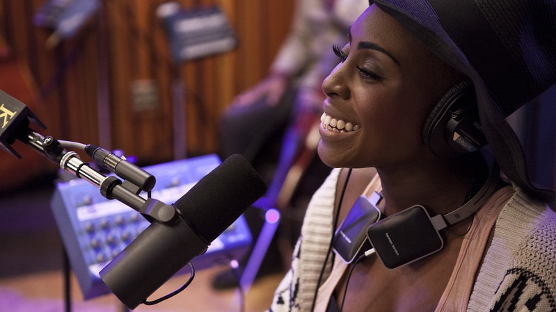 The power of Laura Mvula's voice was emotional and epic in her KCRW debut performance.