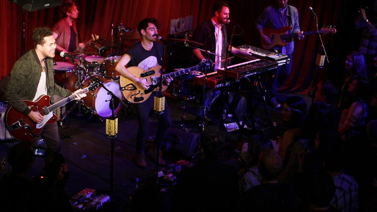 When LA's own Local Natives prepared to release their sophomore album, they chose their local public radio station to debut new songs. Check out this special Apogee Session.