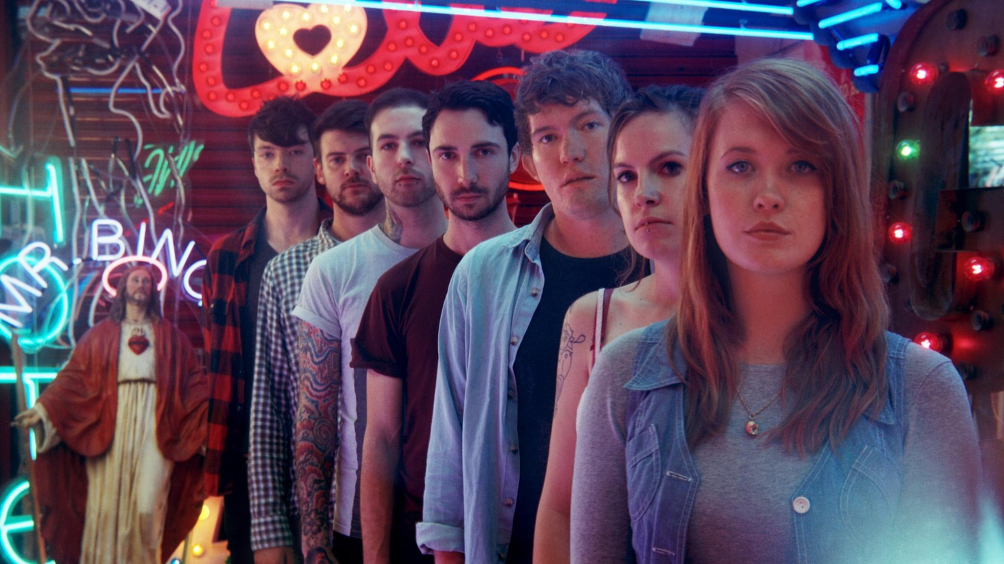 Los Campesinos! are a collective from Wales who specialize in catchy indie pop, even when they're singing breakup songs...