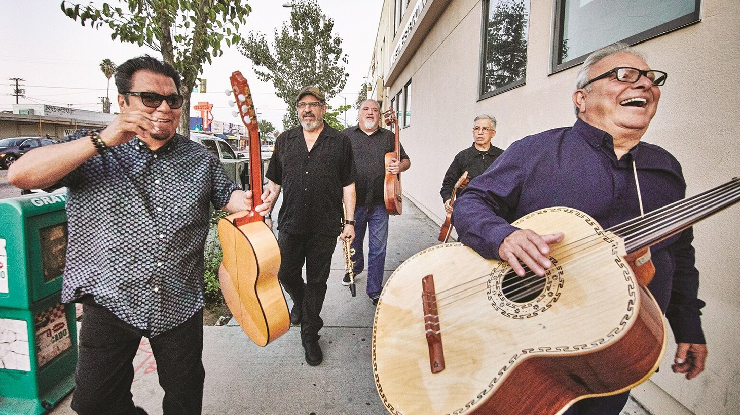 East LA icons Los Lobos released their first ever Christmas album Llego Navidad earlier this fall. The album features reimagined versions of traditional holiday songs from across North, Central and South America.