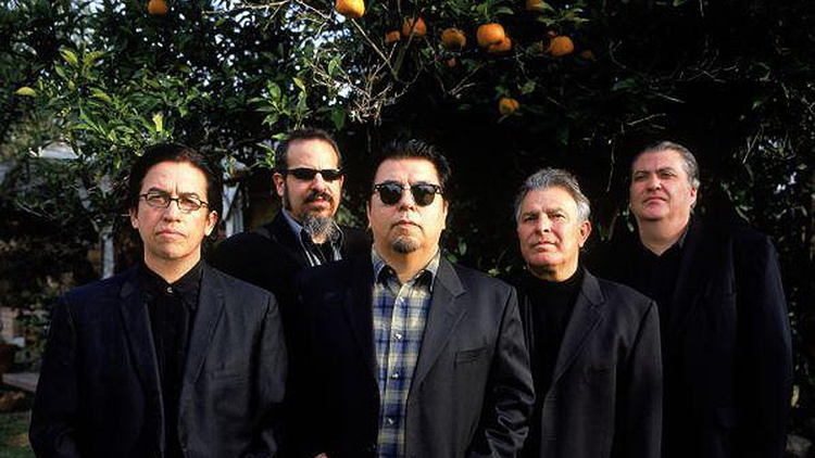 """East L.A.'s Los Lobos celebrate the 20th anniversary of their recording """"Kiko"""" by performing it in its entirety..."""