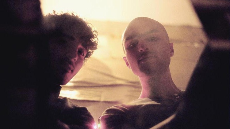 Canadian electronic duo Majical Cloudz get loopy on Morning Becomes Eclectic at 11:15am.