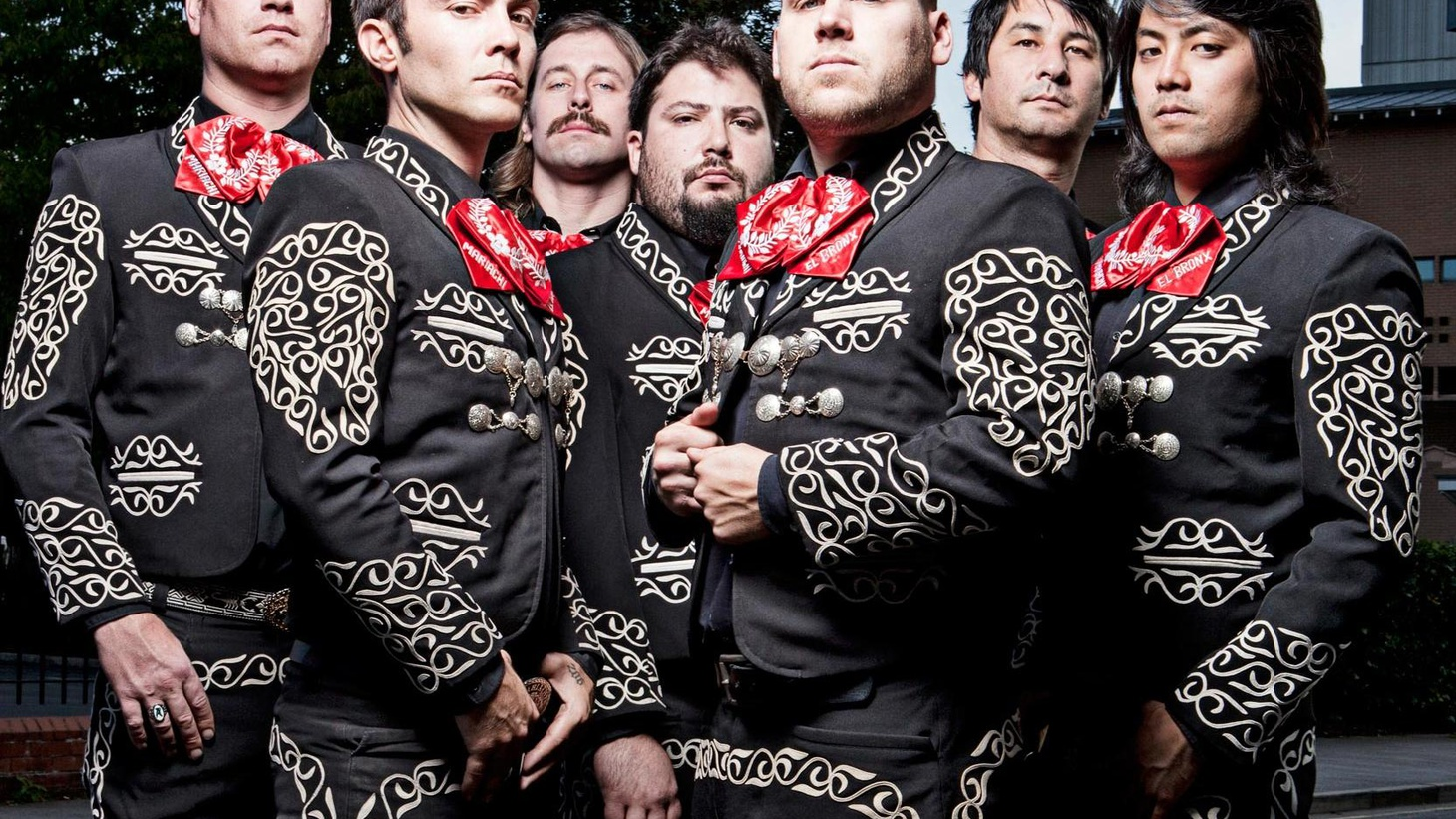 Mariachi El Bronx are sure to knock our socks off at KCRW's Masquerade Ball next weekend but first...