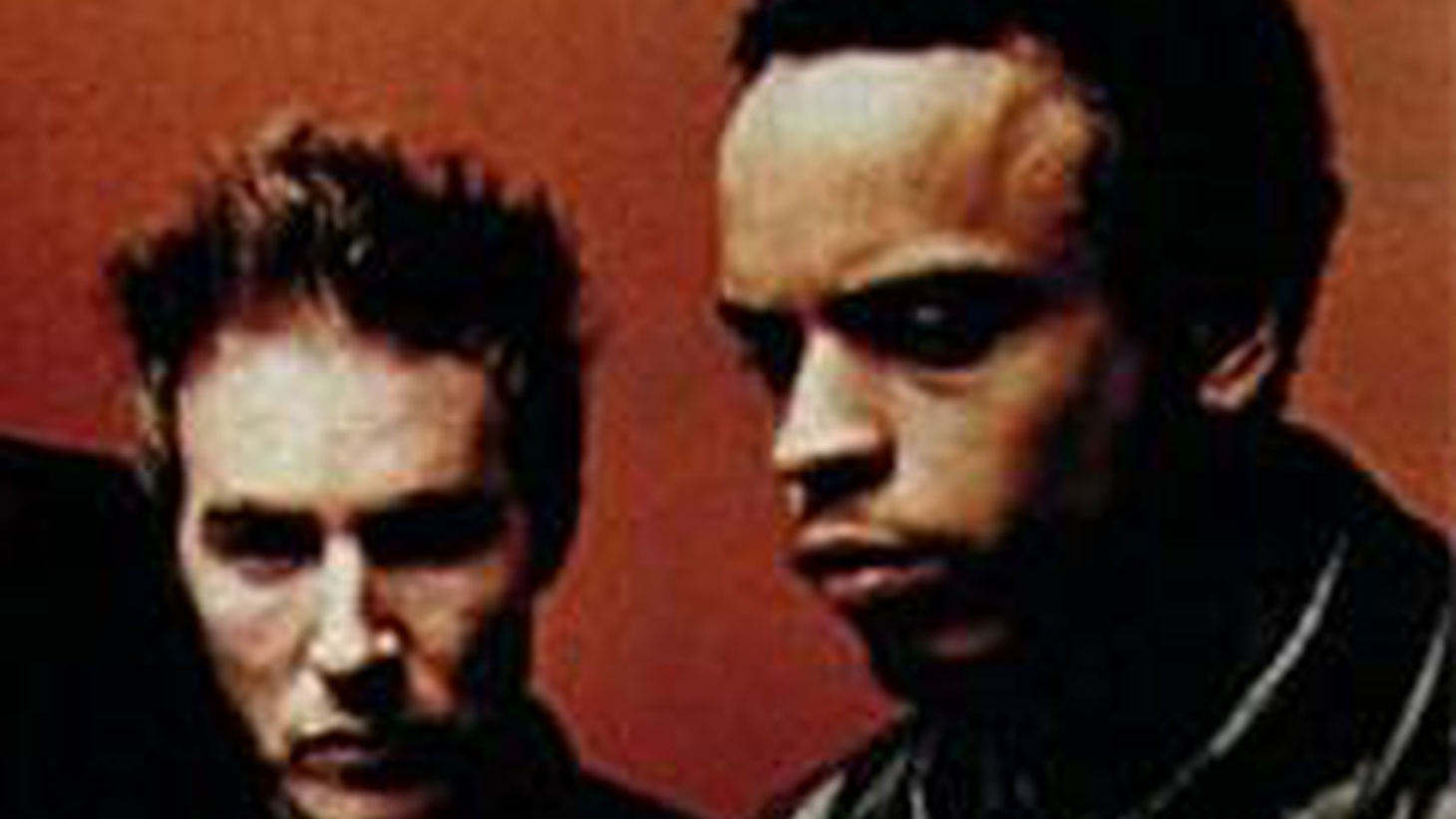 Members of Massive Attack, UK-based pioneers of trip hop groove rap style music, talk about their work and debut new tracks.