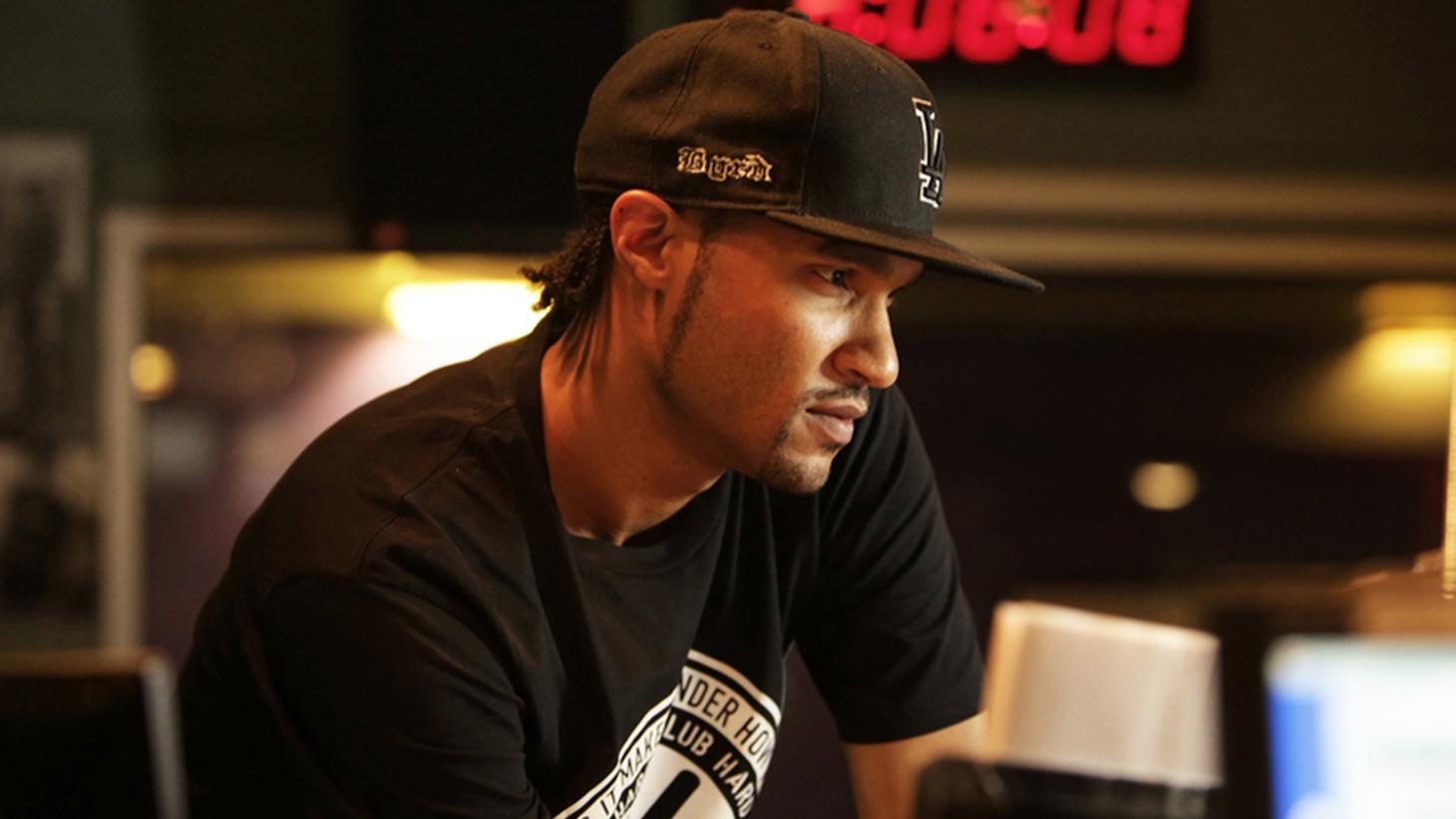 KCRW DJ Aaron Byrd.