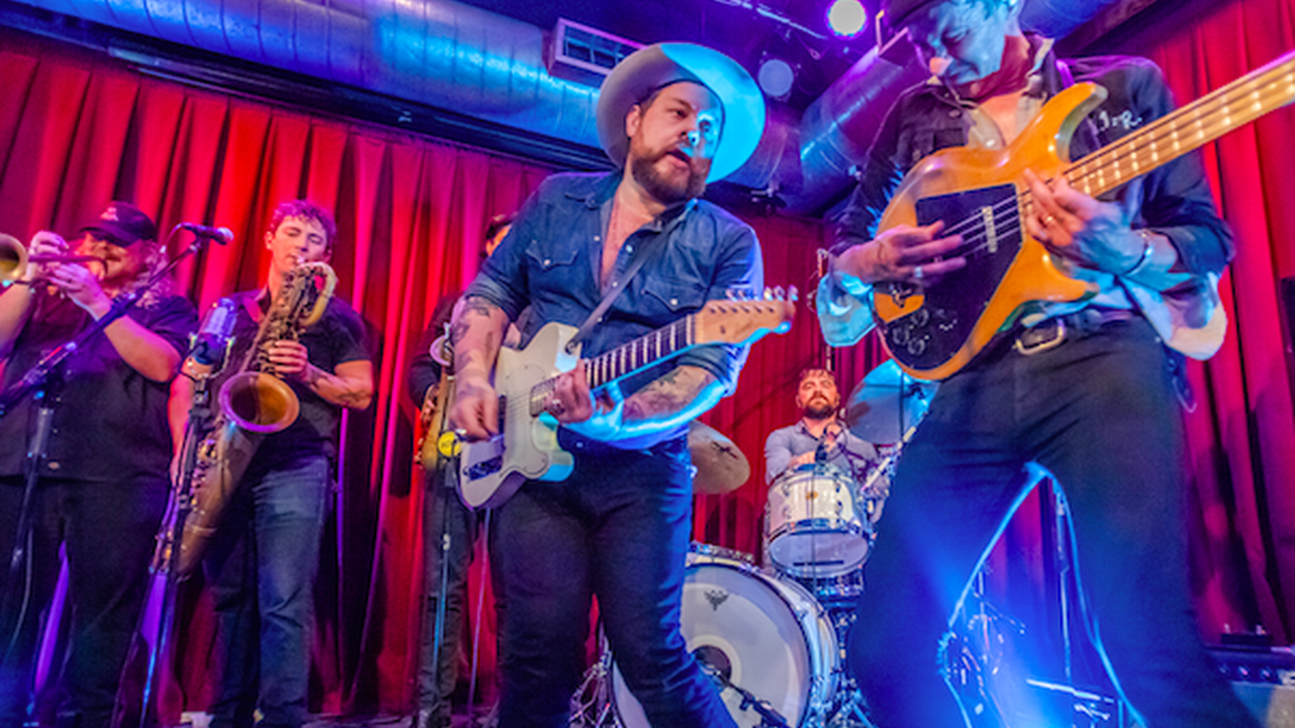 Nathaniel Rateliff and the Night Sweats released their excellent sophomore album Tearing at the Seams earlier this year and have been on the road ever since. Inspired by personal drama, but full of hope, the new songs come alive on stage.