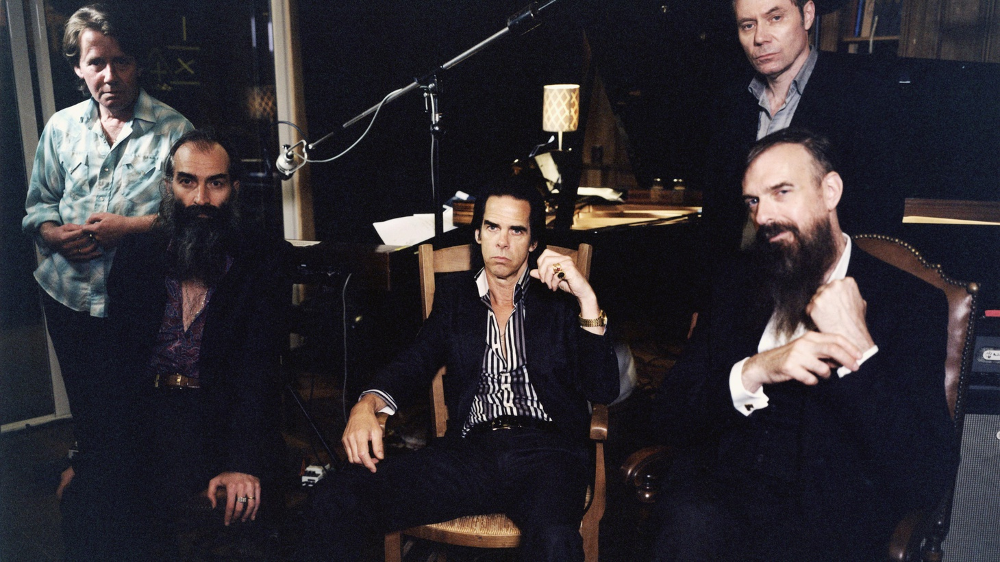 Literary, brooding songster Nick Cave comes in with his band for a session on Morning Becomes Eclectic at 11:15am.Click HERE to watch!