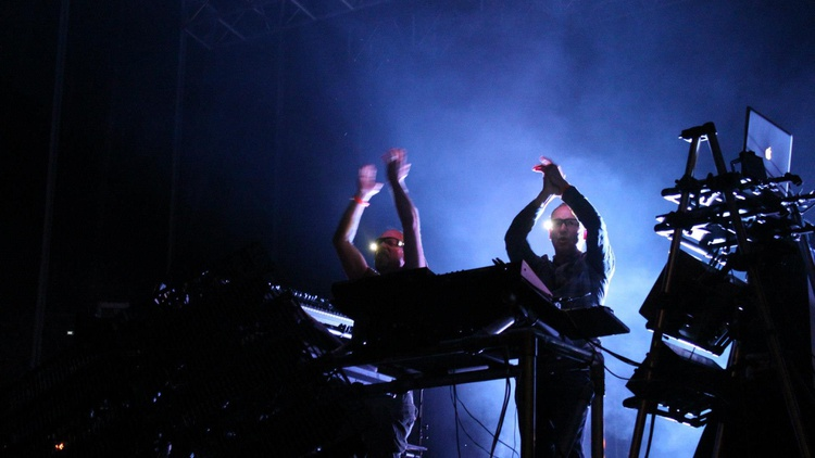 British dance music duo Orbital is one of techno's most celebrated and accomplished partnerships. They really pack a punch.