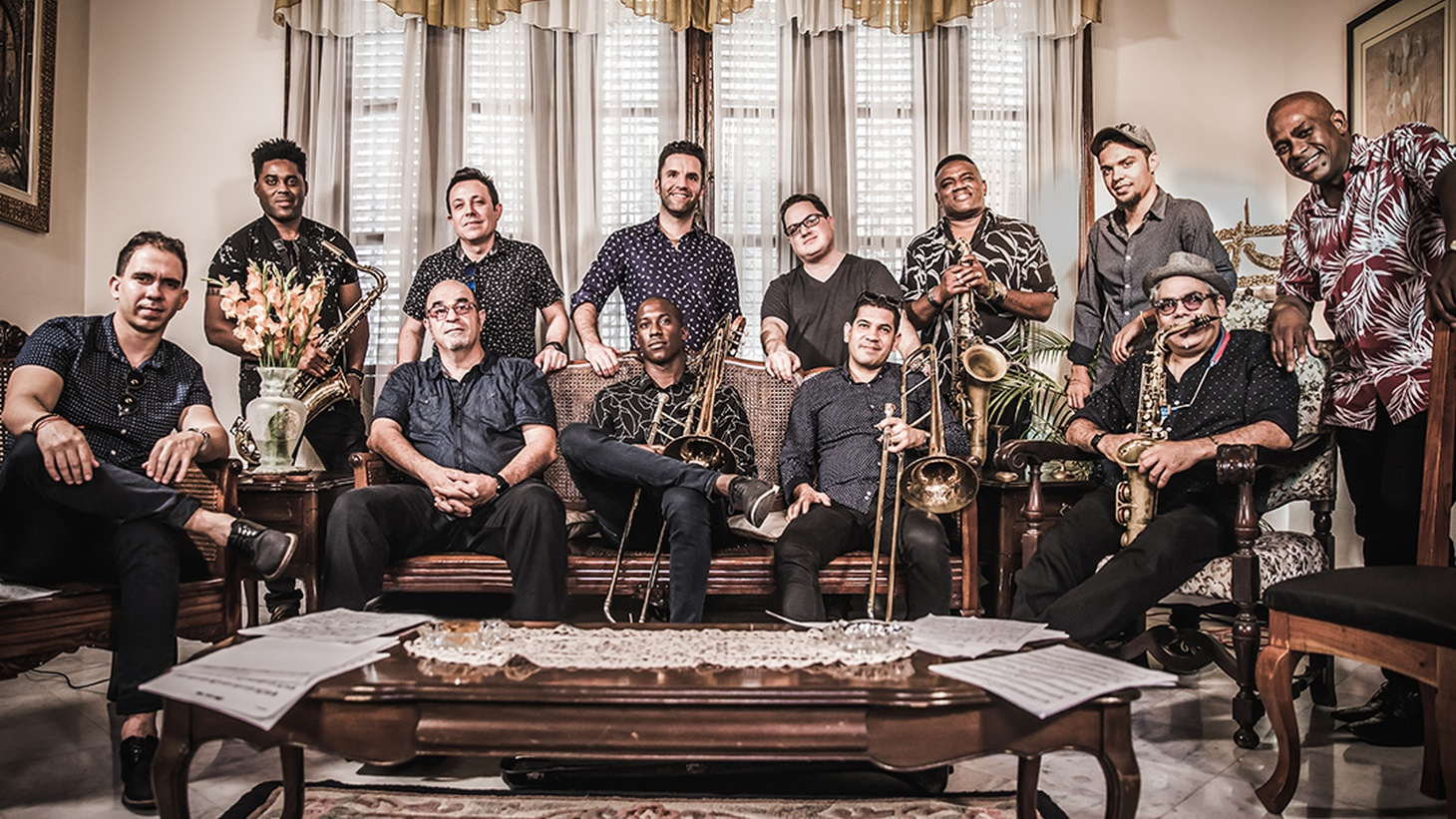 Orquesta Akokán is a deeply soulful mambo ensemble straight out of Cuba. Signed to famed Brooklyn label Daptone Records, the band's high energy music is both thrilling and timeless.