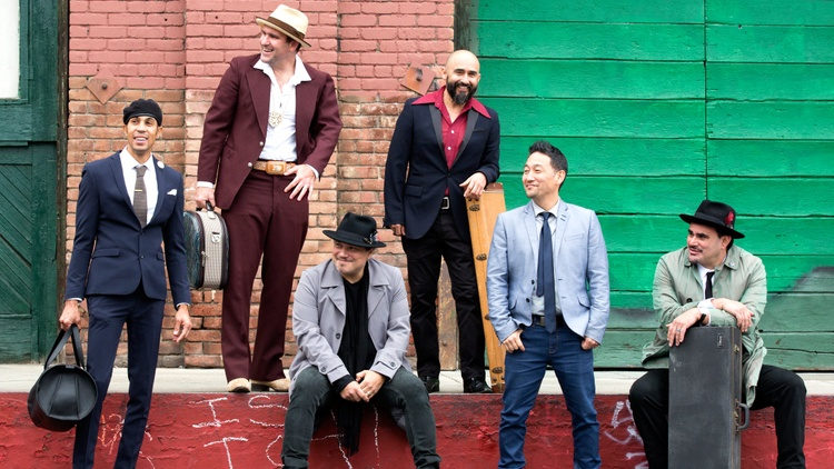 In celebration of their 21st anniversary, Ozomatli teamed up with drum and bass reggae legends Sly & Robbie to re-imagine a collection of hits from the classic songbook of Mexico with…