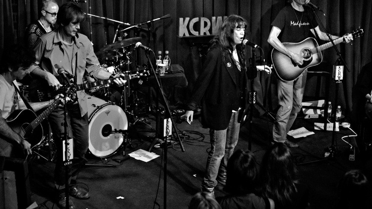 When Patti Smith took the stage for KCRW's Apogee Sessions a couple of weeks ago, we knew we were in for a very special performance.