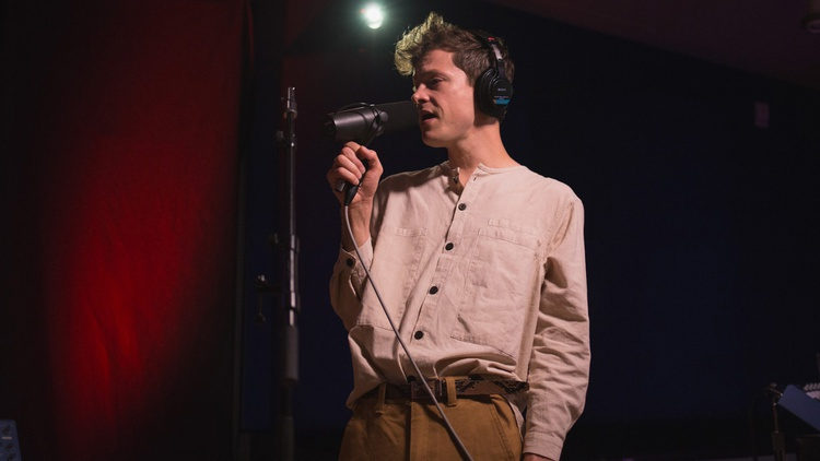 Seattle-based solo artist Mike Hadreas has been making music as Perfume Genius for almost a decade and his fourth album, No Shape, is his most fully realized yet.