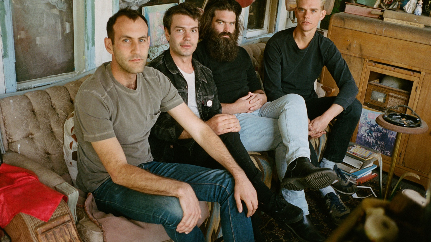 The band now known as Preoccupations (formerly Viet Cong) have released a ferocious rock record as their self-titled debut.
