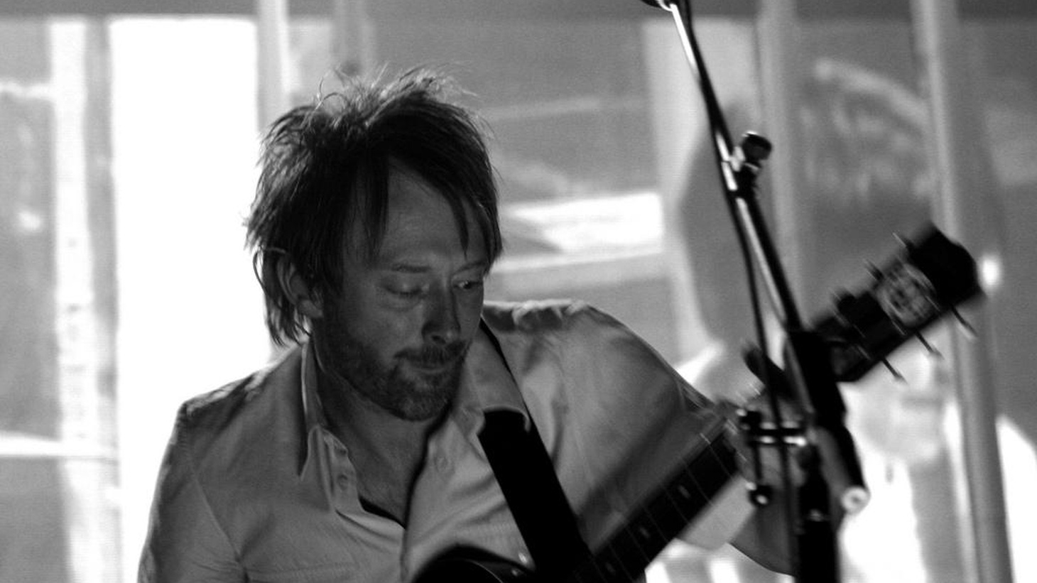 Thom Yorke and Jonny Greenwood of Radiohead join host Chris Douridas for a live performance and interview.