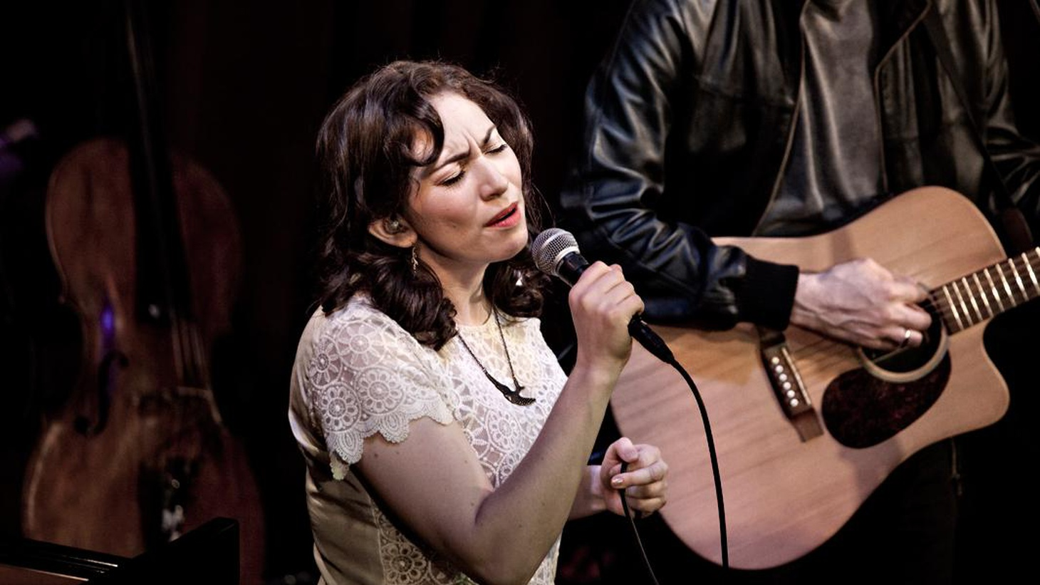 Regina Spektor performed an emotional set of songs from her album What We Saw in the Cheap Seatsin front of a loving live audience at KCRW's Apogee Sessions.