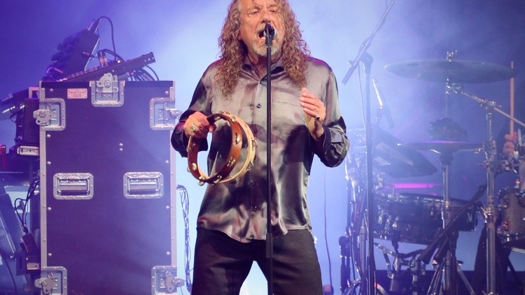 Fifty years into his career, Robert Plant shows no signs of slowing down. After many successful collaborations, the former Led Zeppelin vocalist returned to his native England to re-examine his place as a songwriter. (10am)