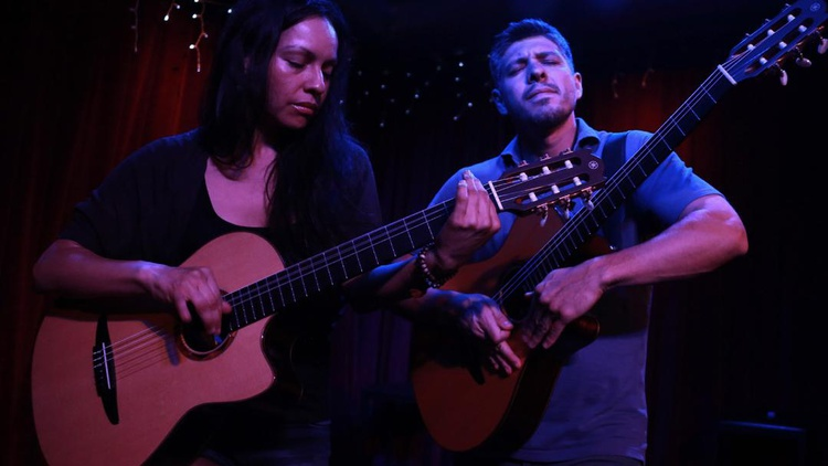Master guitarists Rodrigo y Gabriela transform their instruments into percussive vehicles of melody as they perform at KCRW's Apogee Sessions.