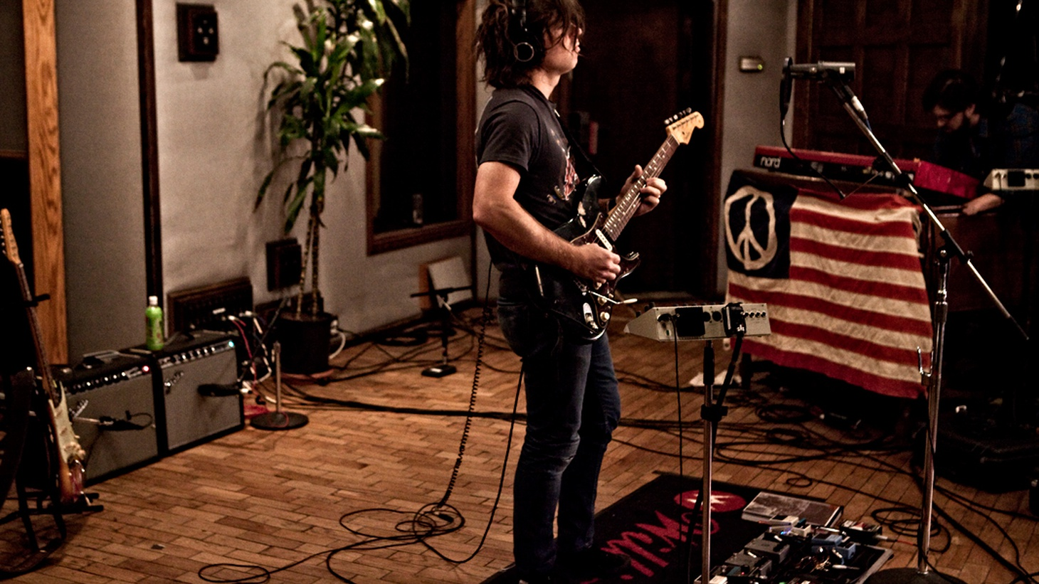 Ryan Adams' 14th studio album was recorded at his own Pax AM studios here in LA. The self-titled work is heartland rock at its finest, with Ryan's special flare. The singer-songwriter recorded a special session for us at the legendary Village Recording Studios.