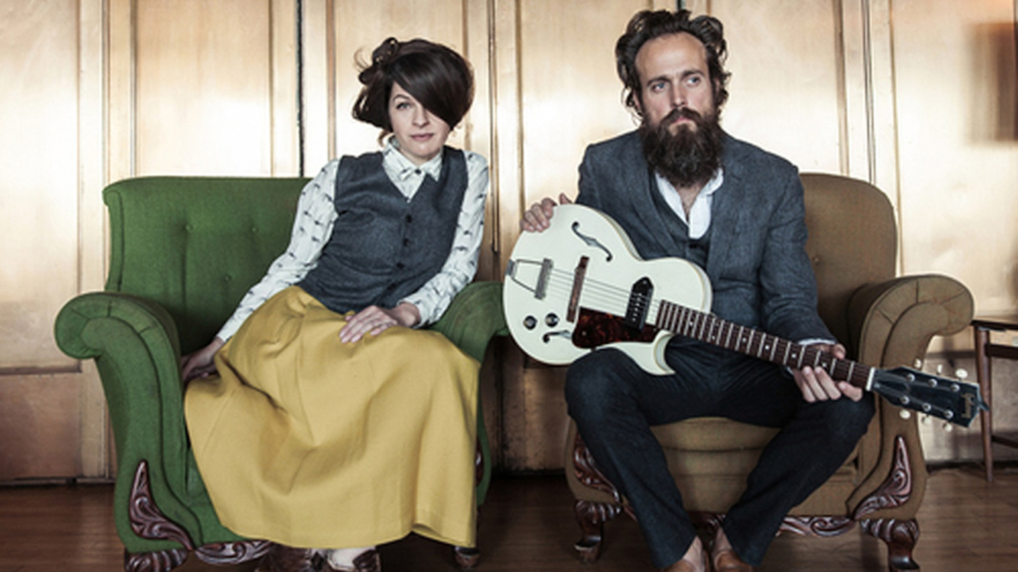 Longtime KCRW favorites Sam Beam and Jesca Hoop team up for this MBE visit. Love -- in all its forms -- takes center stage in the songs from their new collaborative album.
