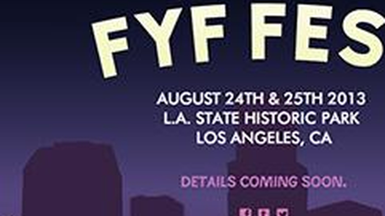 FYF Festival founder Sean Carlson drops by KCRW for the worldwide announcement of the festival line-up at 10:00am.