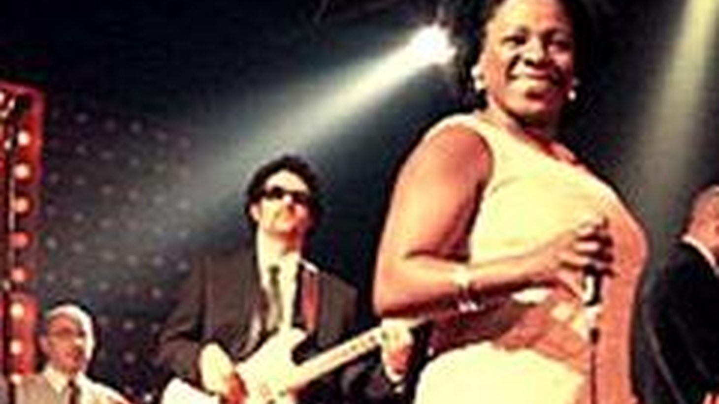 Sharon Jones and the Dap-Kings bring their full band and funky-soul sound when they perform on Morning Becomes Eclectic at 11:15am.