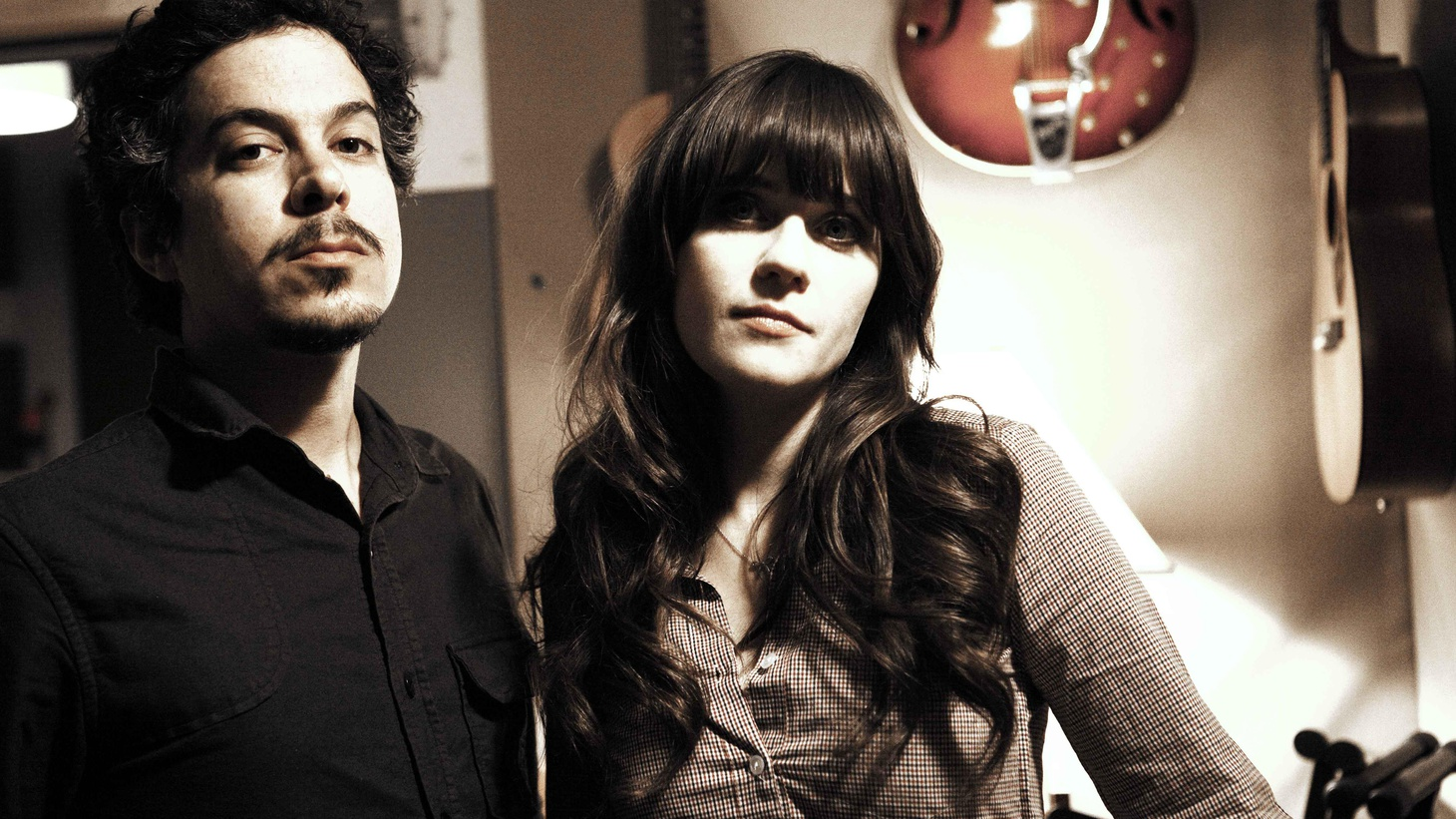Actress Zooey Deschanel showcases her perfect pop sensibilities on a new set of songs produced with M. Ward. They team up as She & Him to perform their duets on Morning Becomes Eclectic at 11:15am.