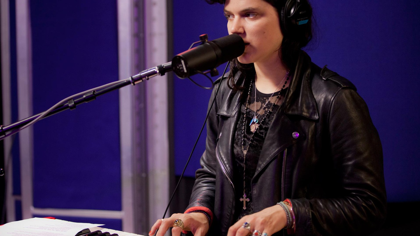 French actress turned singer Soko makes playful music on Morning Becomes Eclectic.