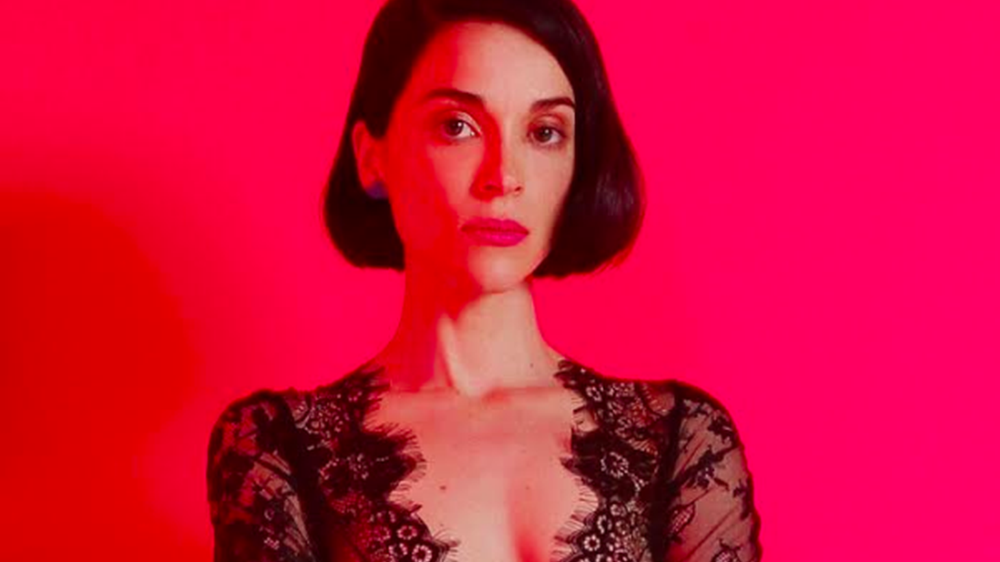 St. Vincent (aka Annie Clark) stops by for a short acoustic set at 10am. The art pop star will play songs from her critically acclaimed album MASSEDUCTION.