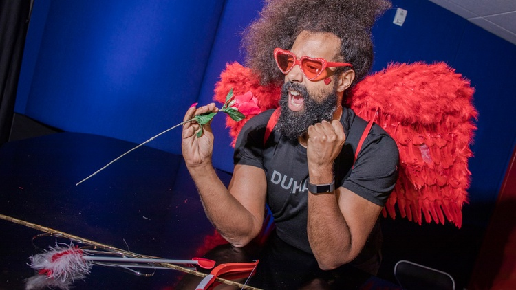 Eccentric, hilarious and endlessly creative, Reggie Watts is truly one of a kind.