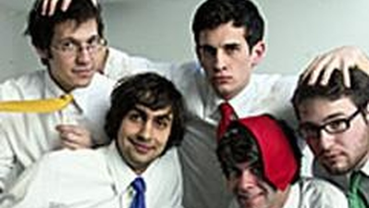 Tally Hall incorporate a fun style to their poppy sound on Morning Becomes Eclectic.