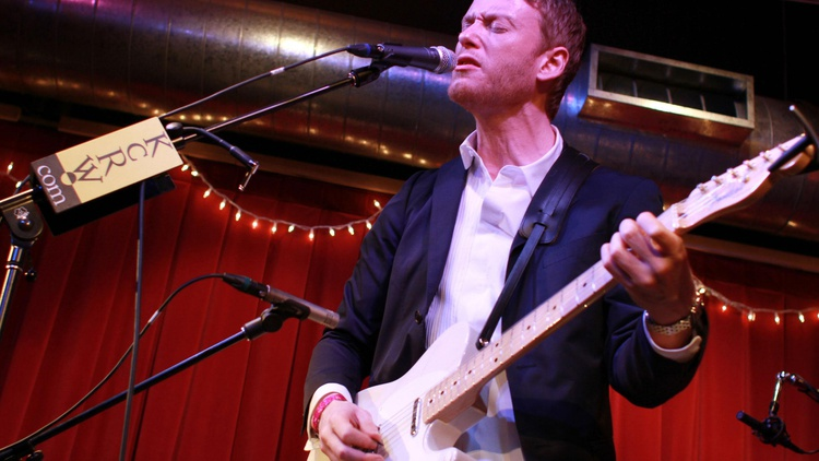Teddy Thompson's musical pedigree gets your attention immediately, as the son of folk legends Richard and Linda Thompson, but it's his soaring voice that won our hearts...