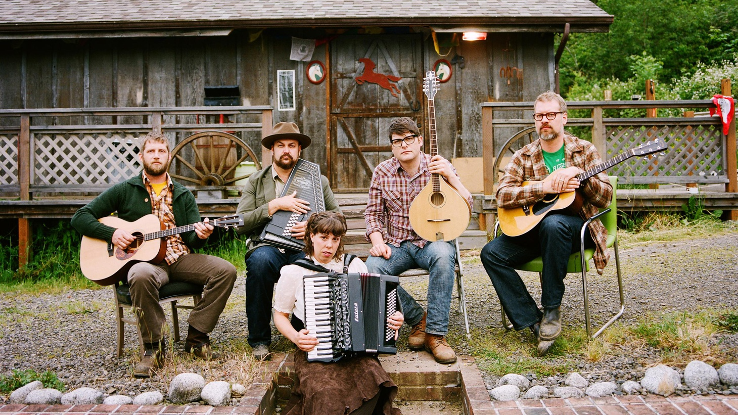 The Decemberists' new release, The King Is Dead, pays tribute to artists they love like R.E.M. and Neil Young.