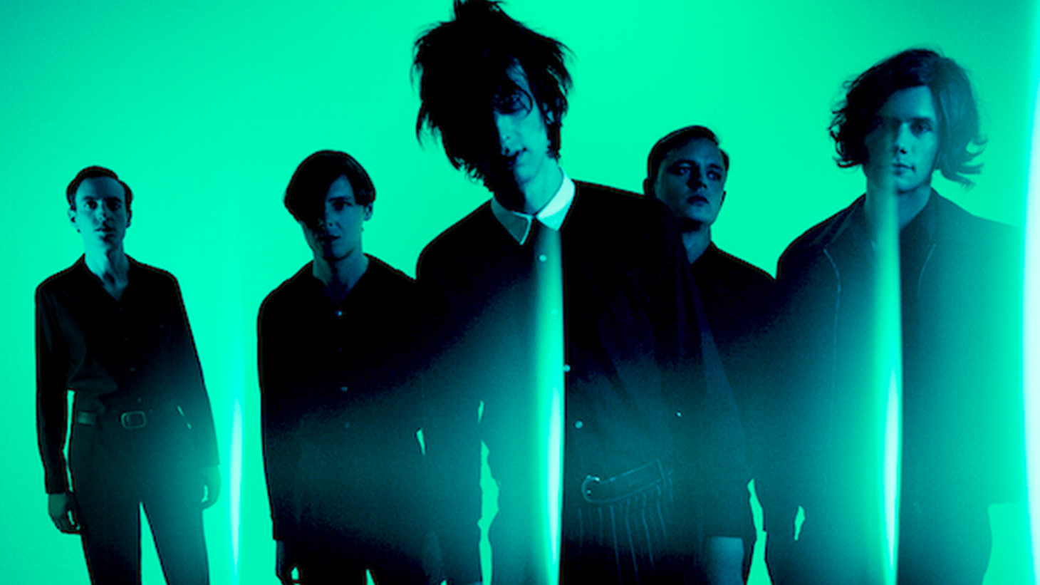 """Moody rockers The Horrors brought in blockbuster producer Paul Epworth to help craft their 5th album """"V"""". They finish up a US tour here in our studio before heading back to the UK."""