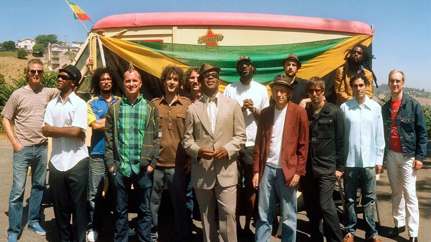 LA-based reggae outfit The Lions roar into KCRW studios for a live set...