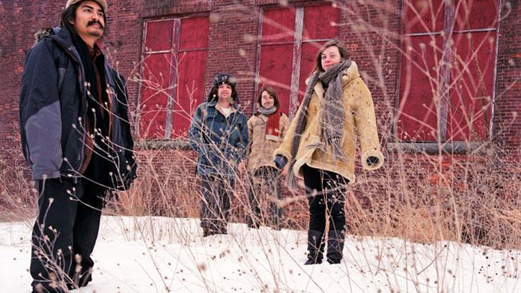 Rhode Island band The Low Anthem entice listeners with hauntingly beautiful songs as their pump organ sighs, their bowed saw warbles and songs are sung in enchanted whispers on Morning Becomes Eclectic at 11:15am.