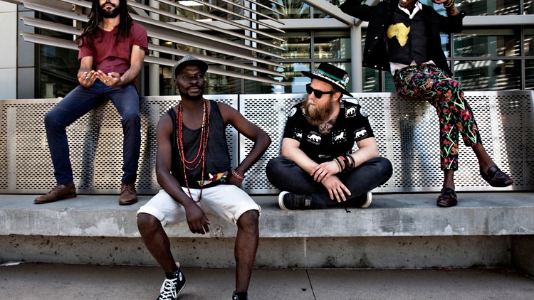 The Very Best is led by a Swedish-Malawian duo who combine African pop with funk and house grooves for highly danceable, exuberant music.
