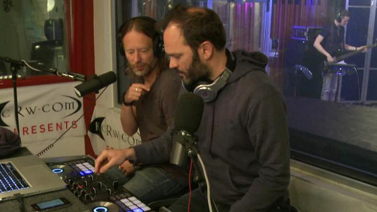 Thom Yorke and Nigel Godrich have teamed up on many projects, from Radiohead to Atoms for Peace. They join forces for an unprecedented DJ set in our studios. (10AM)