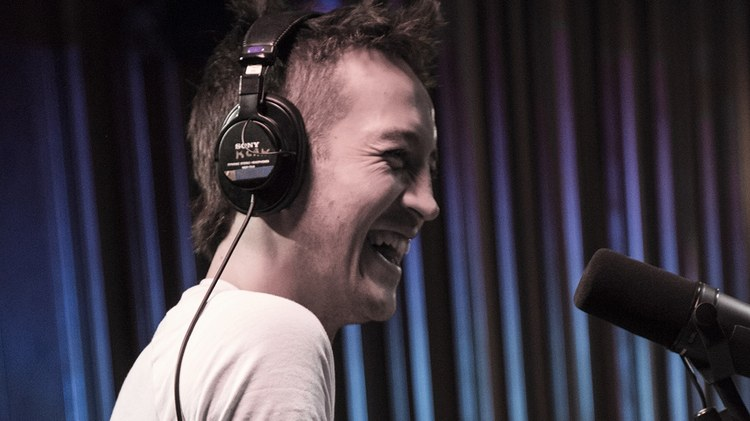 Aaron Byrd has seen a lot of studio sessions during his13 years at KCRW.