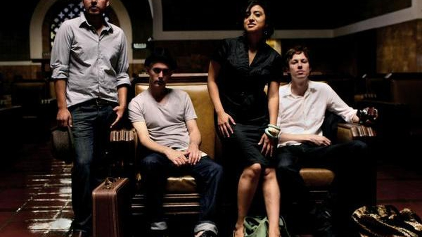 A standout band on the local Latin alternative scene, Wait. Think. Fast. use bilingual lyrics to explore their post-punk musings when they join Morning Becomes Eclectic at 11:15am.