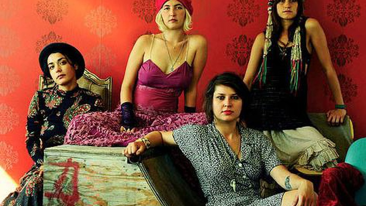 The ladies who make up LA's Warpaint have been getting a lot of attention and rave reviews for their music. KCRW DJ's have been on the frontlines sharing those songs, and we can't wait to hear them live on Morning Becomes Eclectic at 11:15am.