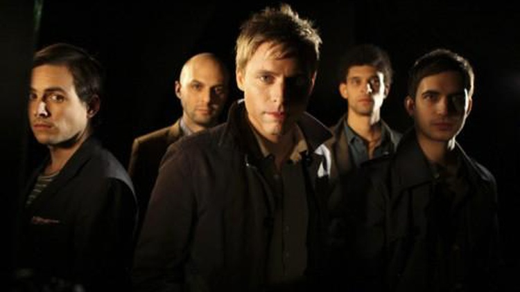 New York City dance-rock outfit White Rabbits have a driving beat -- a mass of percussion and drums...