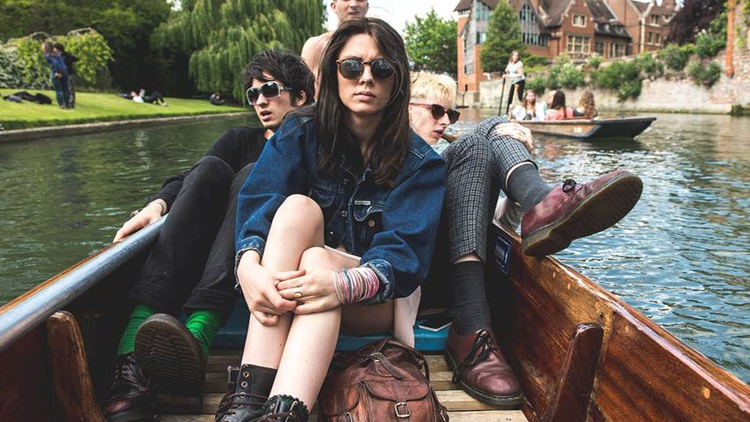 Wolf Alice has an intriguing name and a beguiling vocalist named Ellie Rowsell. The London-based band manage to merge grunge rock with pop choruses.