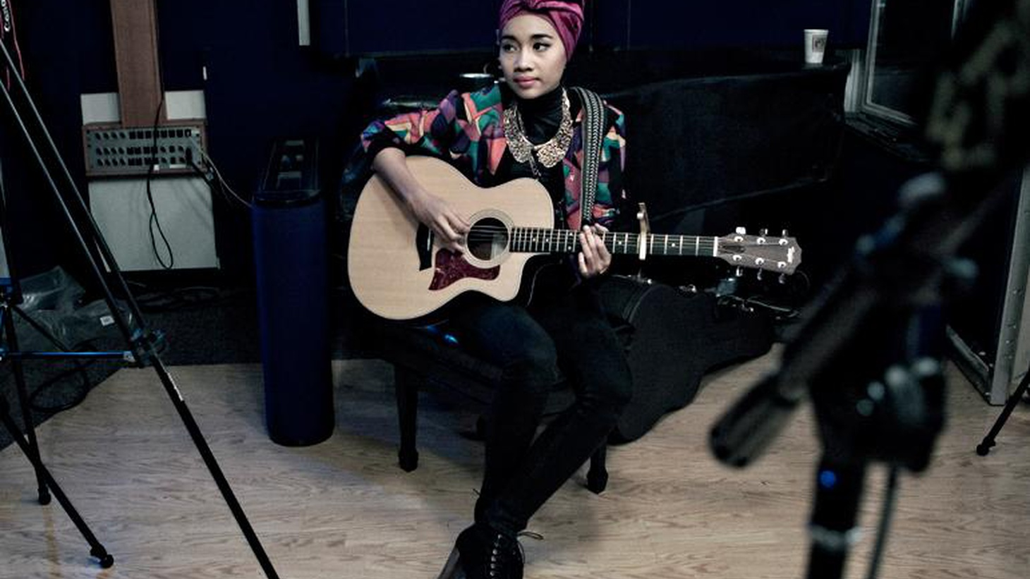 Malaysian singer-songerwriter Yuna offers breezy vocals and warm melodies...