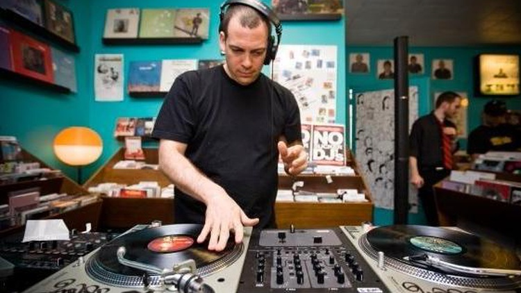 Esteemed deejay Z-Trip mans the turntables on Morning Becomes Eclectic at 11:15am.