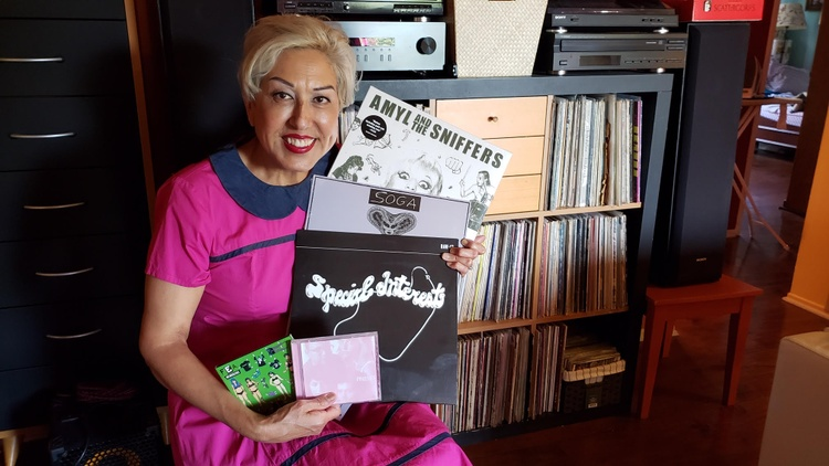 "L.A. punk legend Alice Bag joins KCRW's Private Playlist to share her favorite recent jams, including selections from her punk-rock exercise series, ""Fit for the Apocalypse."""