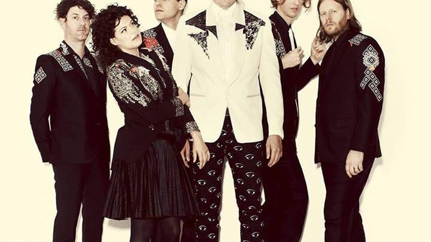 """Arcade Fire performs the band's new album, """"Reflektor,"""" live from Capitol Studios in Los Angeles on Monday, October 28 at 7pm, one day before its official release."""
