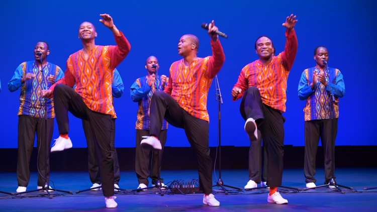 KCRW and CAP UCLA proudly present an exclusive concert with South African vocalists Ladysmith Black Mambazo.