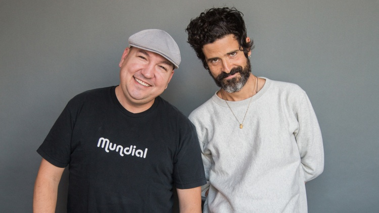 Devendra Banhart performs online exclusive track and talks with Raul Campos